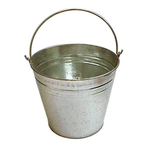 Kay Galvanised Ash Bucket - Ash Bucket - DYS Fireplace Accessories