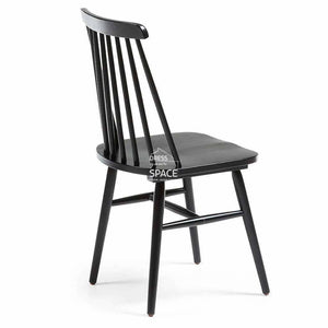 Kristie Chair - Black - Indoor Dining Chair - La Forma