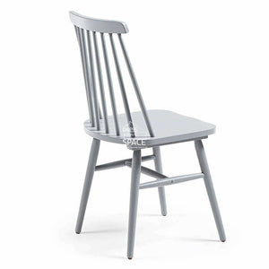 Kristie Chair - Grey - Indoor Dining Chair - La Forma