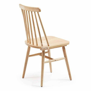 Kristie Chair - Natural - Indoor Dining Chair - La Forma