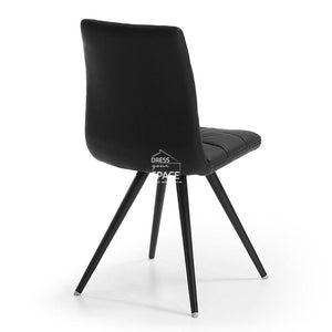 Lark Chair - Black PU - Indoor Dining Chair - La Forma