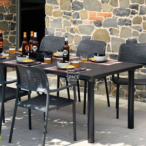 Libeccio Extension Table - Anthracite - Outdoor Extension Table - Nardi