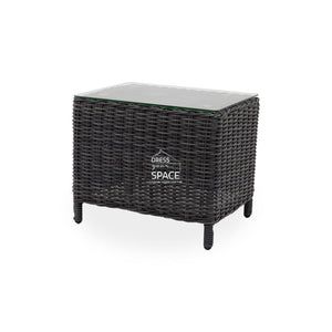Lisbon Side Table - Castle Grey - Outdoor Side Table - DYS Outdoor