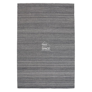 Loom Smoke Wool Rug - Indoor Rug - Ghadamian