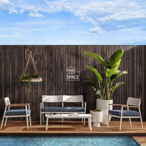 Lorenzo 4 Piece Lounge - Outdoor Lounge - DYS Outdoor