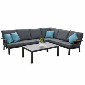 Lorne 5 Piece Corner Lounge - Outdoor Lounge - DYS Outdoor