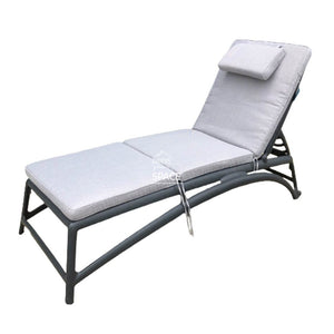 Lounger Cushion - Silver Grey - Sunlounger Cushion - DYS Outdoor