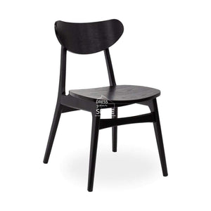 Martina Chair - Black/Black Ash - Indoor Dining Chair - DYS Indoor