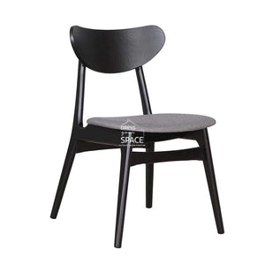 Martina Chair - Black/Truffle - Indoor Dining Chair - DYS Indoor