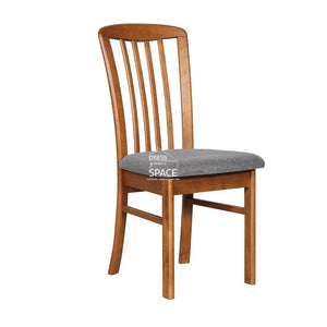 Mary Chair - Teak/Graphite - Indoor Dining Chair - DYS Indoor