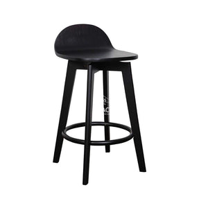 Nadia Stool - Black/Black Ash - Indoor Counter Stool - DYS Indoor