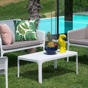 Net Coffee Table - Jade - Outdoor Coffee Table - Nardi