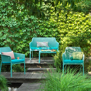 Net Relax 4 Piece Lounge - Jade - Outdoor Lounge - Nardi