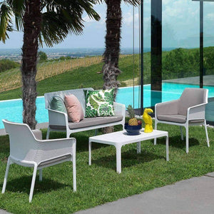 Net Twin Lounge - Coral - Outdoor Lounge - Nardi