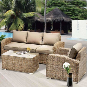 New Orleans 4 Piece Set - Marina - Outdoor Lounge - DYS Outdoor