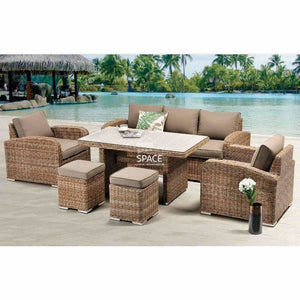 New Orleans 6 Piece Set - Marina - Outdoor Lounge - DYS Outdoor