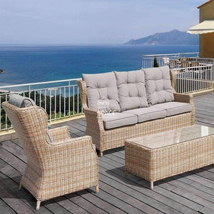 Nottingham 4 Piece Set - Marina - Outdoor Lounge - DYS Outdoor