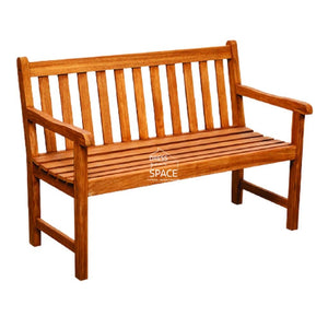 Piccadilly Teak Park Bench 120cm - SOLD OUT - Outdoor Bench - DYS Outdoor