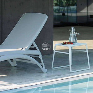 Pop Side Table - White - Outdoor Side Table - Nardi