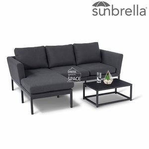 Pulse 3 Piece Lounge - Sunbrella - Outdoor Lounge - DYS Outdoor
