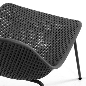Quinby Chair - Graphite - Indoor Dining Chair - La Forma