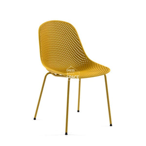 Quinby Chair - Yellow - Indoor Dining Chair - La Forma