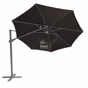 Regis Side Tilt Cantilever Umbrella | Octagonal - Outdoor Umbrella - Shelta