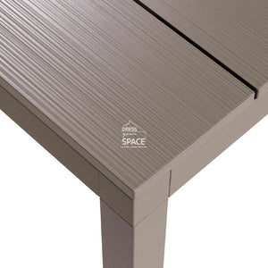 Rio Aluminium Extension Table - Taupe - Outdoor Table - Nardi