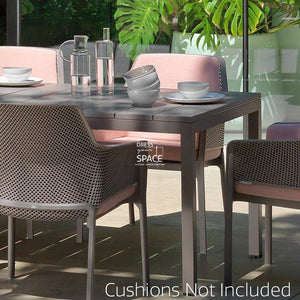 Rio - Net Relax Arm Dining Set - Outdoor Dining Set - Nardi Dining
