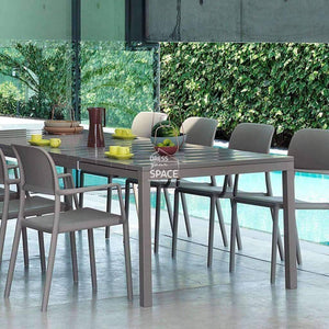 Rio Extension Table - Taupe - Outdoor Extension Table - Nardi