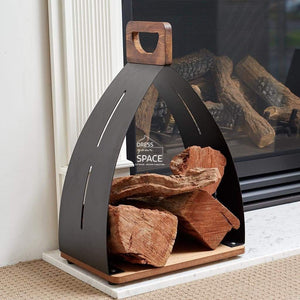 Sam Bass Log Holder - Wood Log Holder - DYS Fireplace Accessories