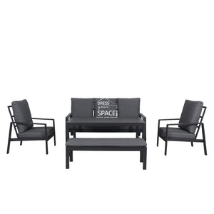 San Gabriel 5 Piece Lounge - Outdoor Lounge - DYS Outdoor