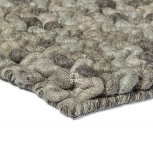 Sleeping Loop Wool Rug - Stone - Indoor Rug - Ghadamian