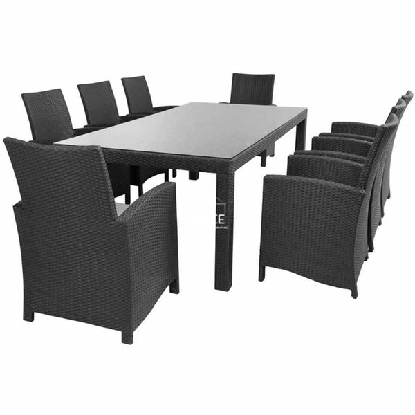 Buy Stanley Table Mirage Chair Dining Set By Dys Outdoor