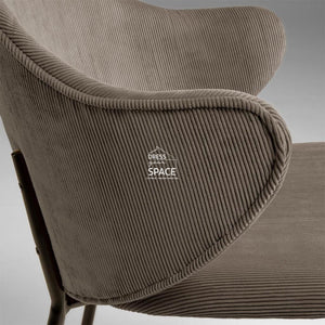 Suanne Chair - Brown - Indoor Dining Chair - La Forma