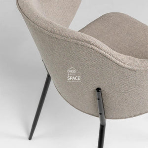 Suanne Chair - Light Grey - Indoor Dining Chair - La Forma