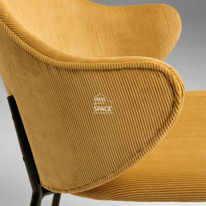Suanne Chair - Mustard - Indoor Dining Chair - La Forma