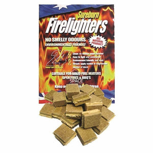 Sureburn Waterproof Firelighters - Firelighters - DYS Fireplace Accessories