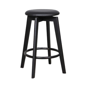 Tait Stool - Black/Black PU - Indoor Counter Stool - DYS Indoor