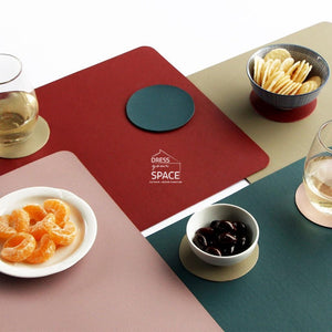 Togo Placemat - Black - Placemat - DYS Indoor