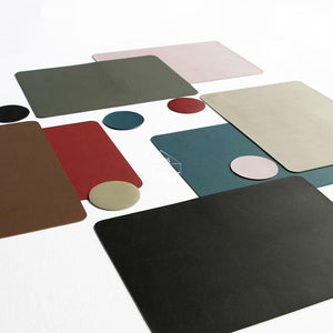 Togo Placemat - Brown - Placemat - DYS Indoor