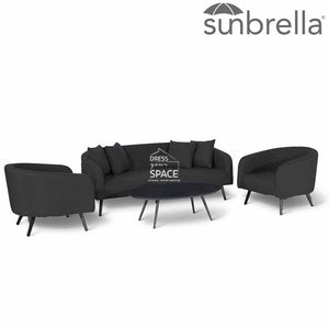 Torquay 4 Piece Lounge - Sunbrella - Outdoor Lounge - DYS Outdoor