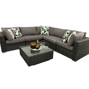 Toulouse 6 Piece Modular Lounge - Outdoor Lounge - DYS Outdoor