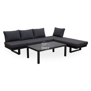 Transforma 3 Piece - Sofa/Sunlounge All In One - Outdoor Lounge - DYS Outdoor