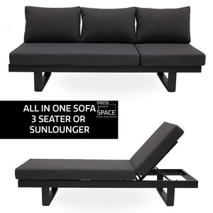 Transforma - Sofa & Sun Lounge All In One - Outdoor Lounge - DYS Outdoor