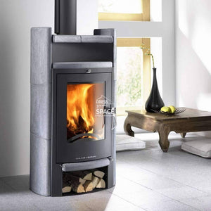 Uppsala Wood Fireplace - Indoor Fireplace - Euro