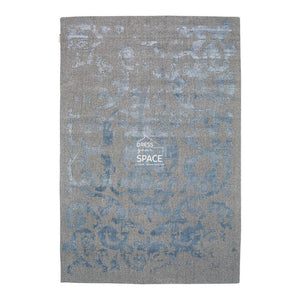 Vienna 51 Wool Rug - Grey Blue - Indoor Rug - Ghadamian