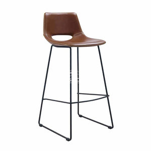 Ziggy Stool - Rust PU - Indoor Counter Stool - La Forma