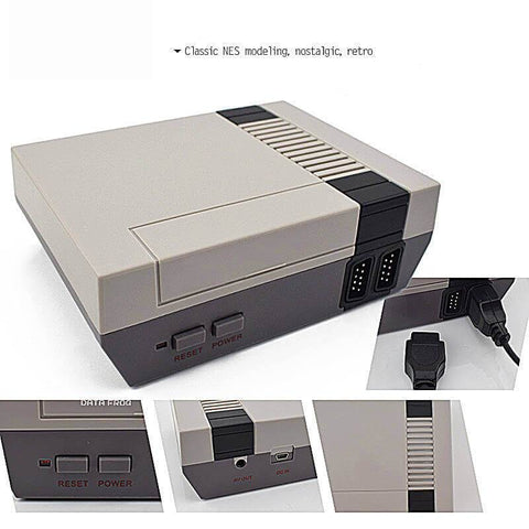 Retro Gaming Console (600+ classic games included) - (70% OFF!)