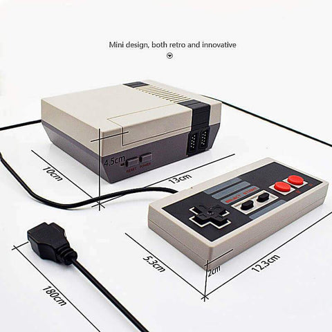 Image of GoldTech Products Retro Classic Mini Game Console - 8-Bit 620 Built-in Retro Classic Games with 2 Wired or Wireless Controllers - Ideal for Children & Kids Bring Back Childhood Memories - (70% OFF!)